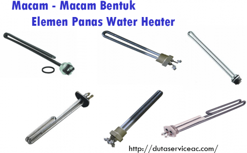 elemen panas water heater