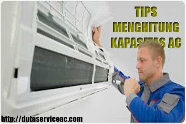 Menghitung Kapasitas AC Ruangan