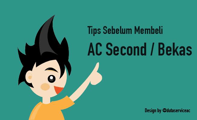 memilih ac second