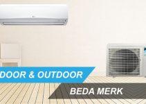 indoor dan outdoor beda merk