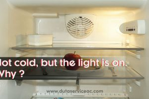 kulkas tidak dingin tapi lampu nyala