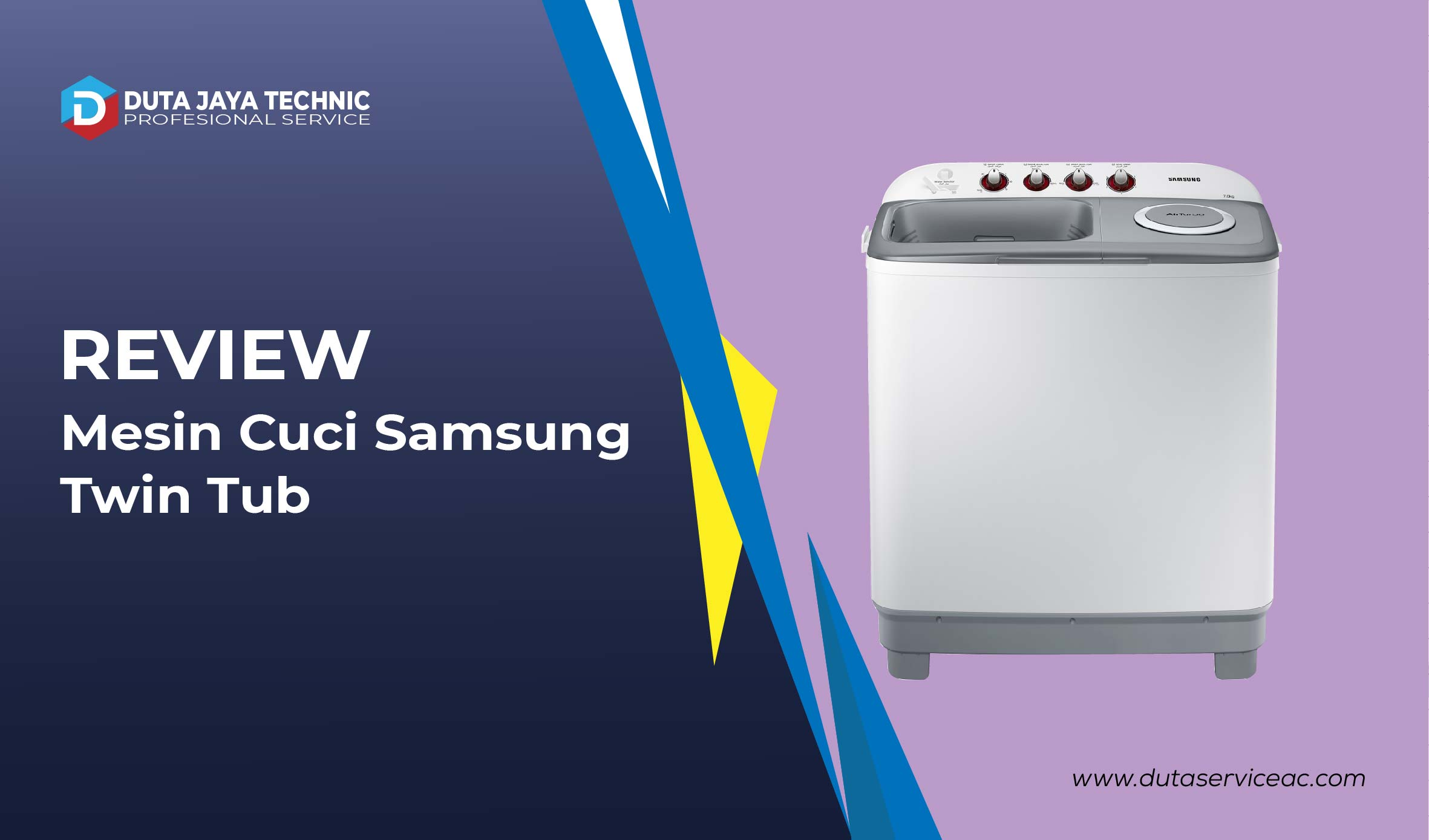 review mesin cuci samsung twin tub