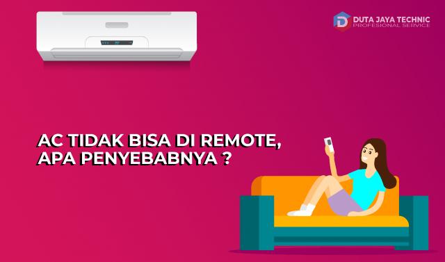 ac tidak bisa di remote