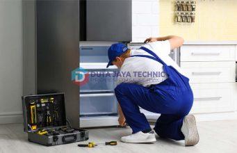 bagian bawah kulkas tidak dingin