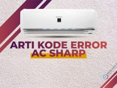 Kode Error AC Sharp