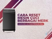 cara reset mesin cuci