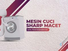 mesin cuci sharp macet