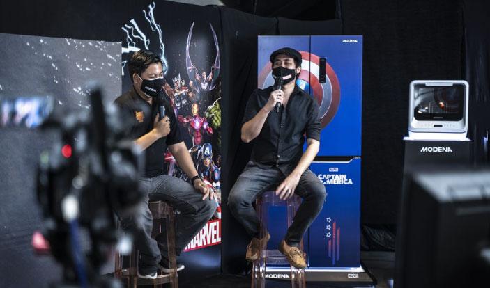 Modena luncurkan produk bertema Marvel secara virtual