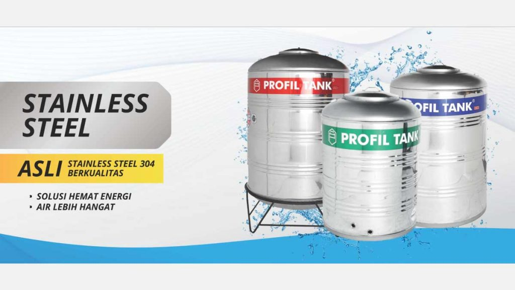 PROFIL TANK PS 1100D (1055 L) Tipe Stainless Steel