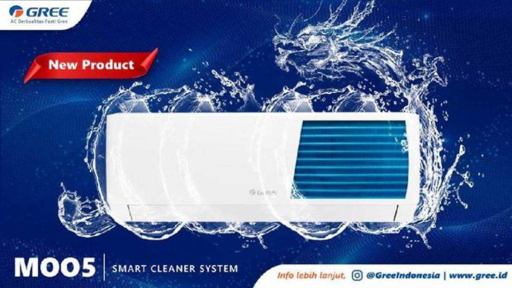 Fitur Smart Cleaner. Foto dok Gree